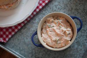 Homemade Veggie Cream Cheese